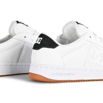 DC Striker Skate Shoes - White/Black/Gum