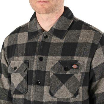 Dickies New Sacramento L/S Shirt - Grey Melange