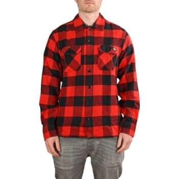 Dickies New Sacramento L/S Shirt - Red