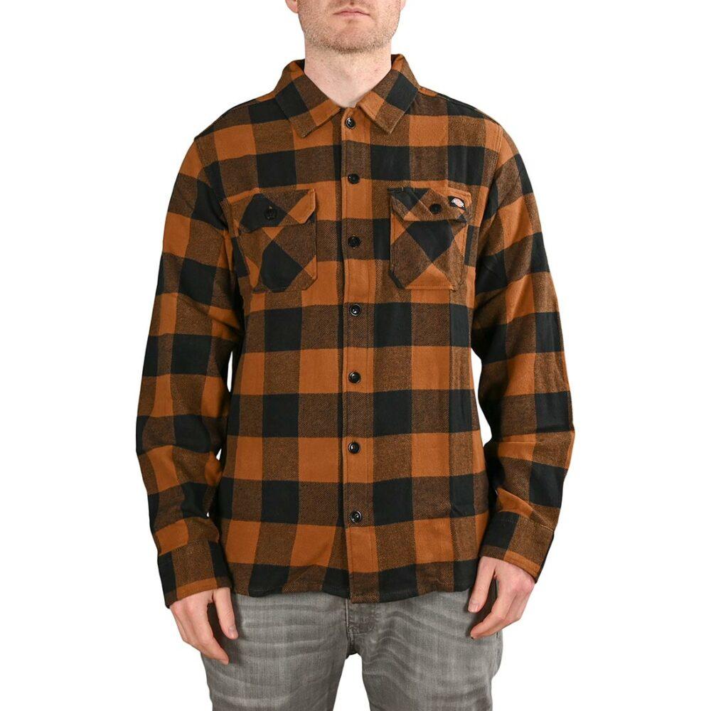 Dickies New Sacramento L/S Shirt - Brown Duck