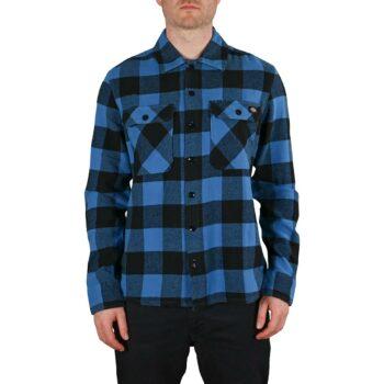 Dickies New Sacramento L/S Shirt - True Blue