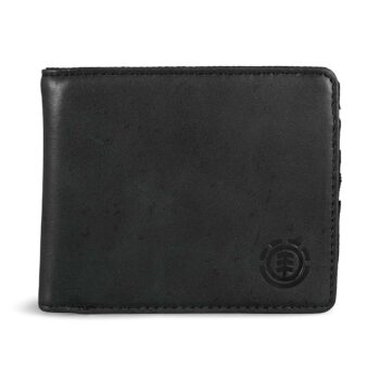 Element Avenue Bi-Fold Wallet - Black