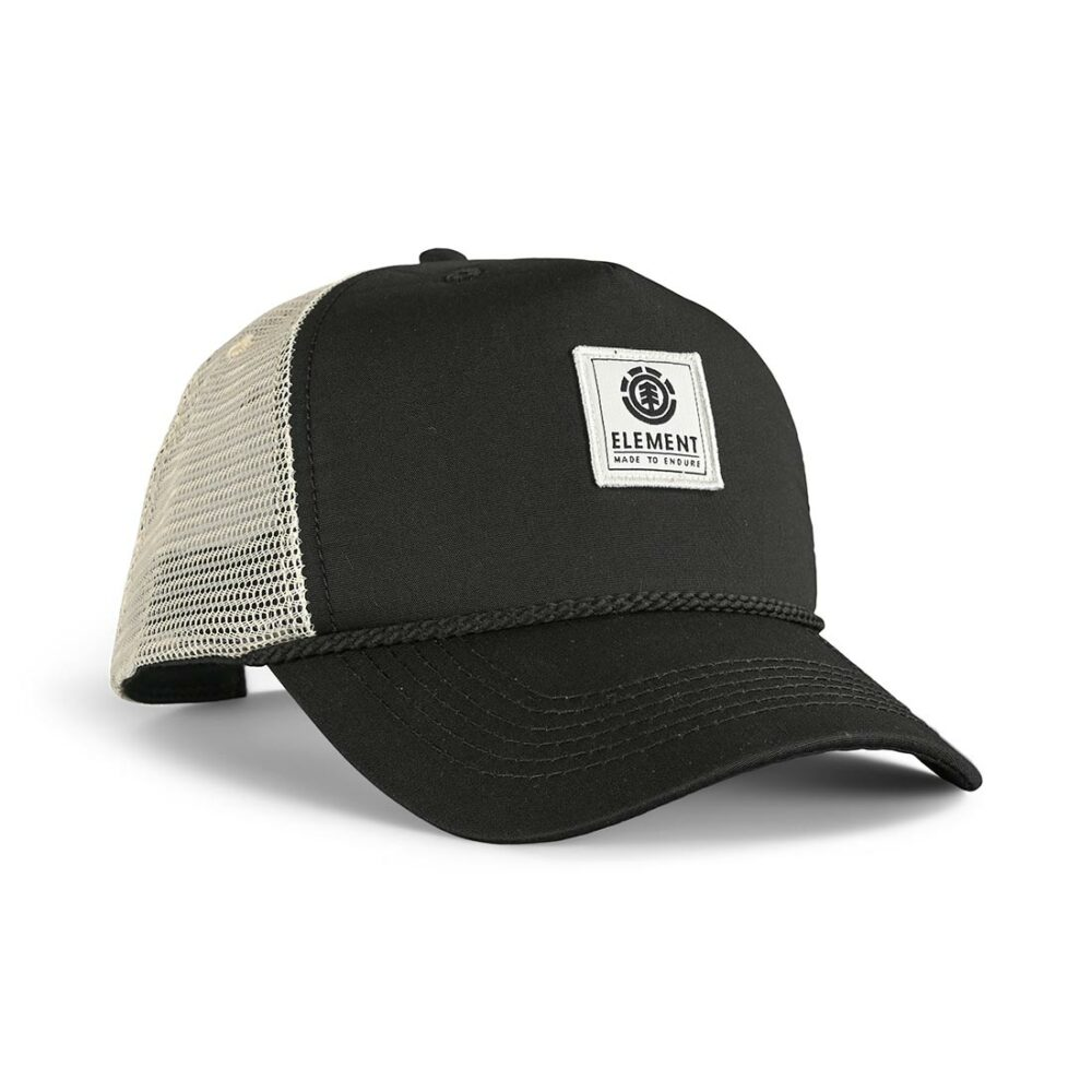 Element Stint Trucker Cap - Flint Black