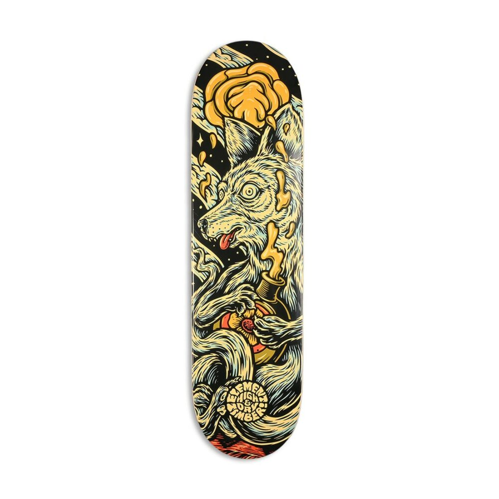 "Element x Timber High Dry Wolf 8.3"" Skateboard Deck"
