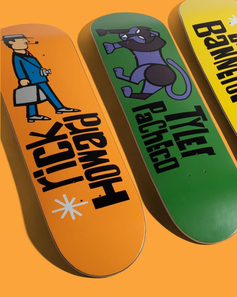 Girl Skateboards Pictograph Decks