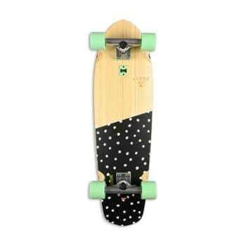 "Globe Big Blazer 32"" Complete Cruiser Skateboard - Bamboo/Dotted"