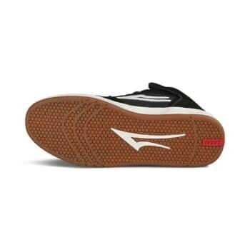 Lakai Telford High Top Skate Shoes - Black Suede