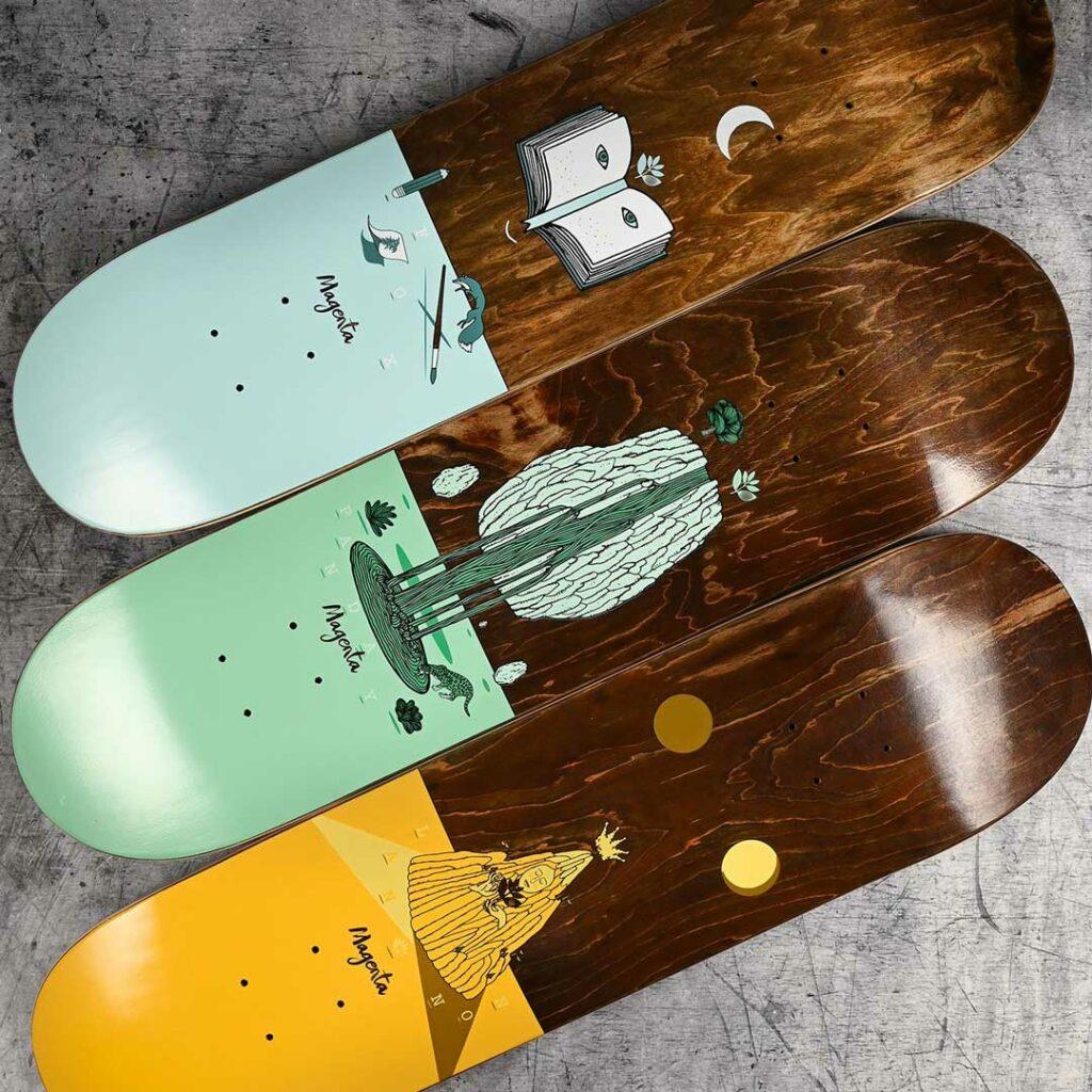 Magenta Skateboards