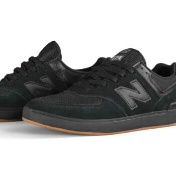 New Balance AM574 Shoes - Black/Black