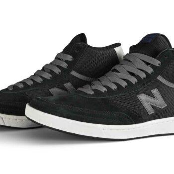 New Balance Numeric 440 High-Top Skate Shoes - Black/Grey
