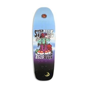 "New Deal Siamese Invader Slick 9.375"" Reissue Skateboard Deck"
