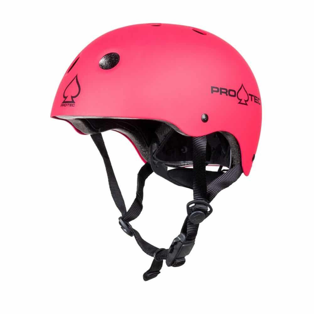 Pro-Tec Classic Fit Youth Helmet - Matte Pink