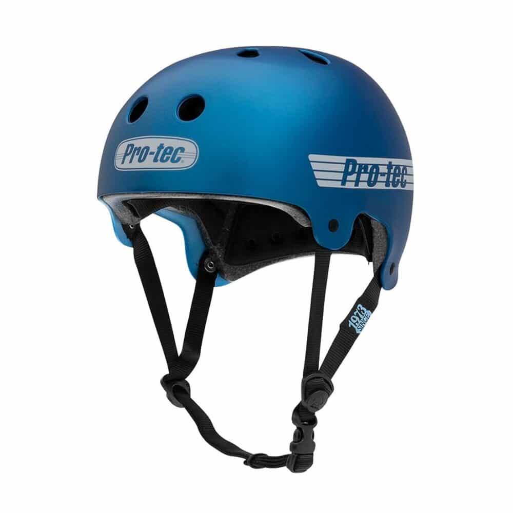 Pro-Tec Old School Helmet - Matte Metallic Blue
