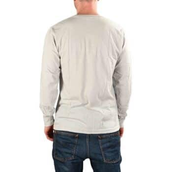 RIPNDIP Lord Nermal L/S Pocket T-Shirt - Grey