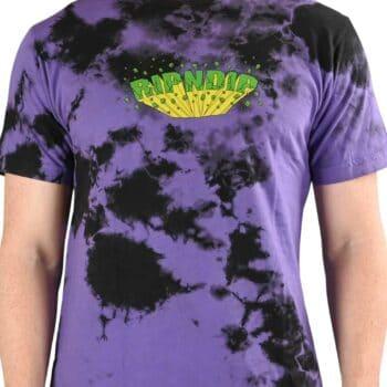 RIPNDIP Nebula S/S T-Shirt - Purple/Black Dye