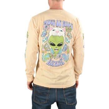 RIPNDIP Think Factory L/S T-Shirt - Light Peach
