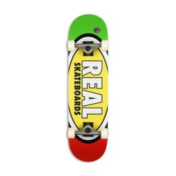 """Real Team Edition Oval 8.25"""" Complete Skateboard"""