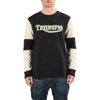 Triumph Imperial Double Pique L/S T-Shirt - Black