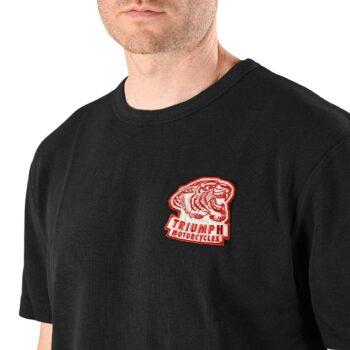 Triumph Kibworth Badge S/S T-Shirt - Black