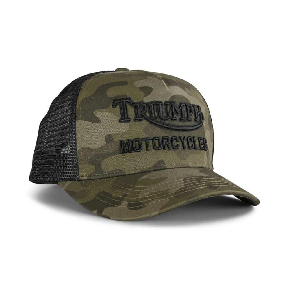 Triumph Oil Trucker Hat - Camo