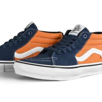 Vans Skate Grosso Mid Shoes - Navy/Orange