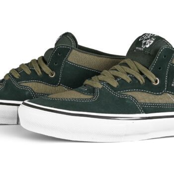 Vans Half Cab Skate Shoes - Scarab/Military