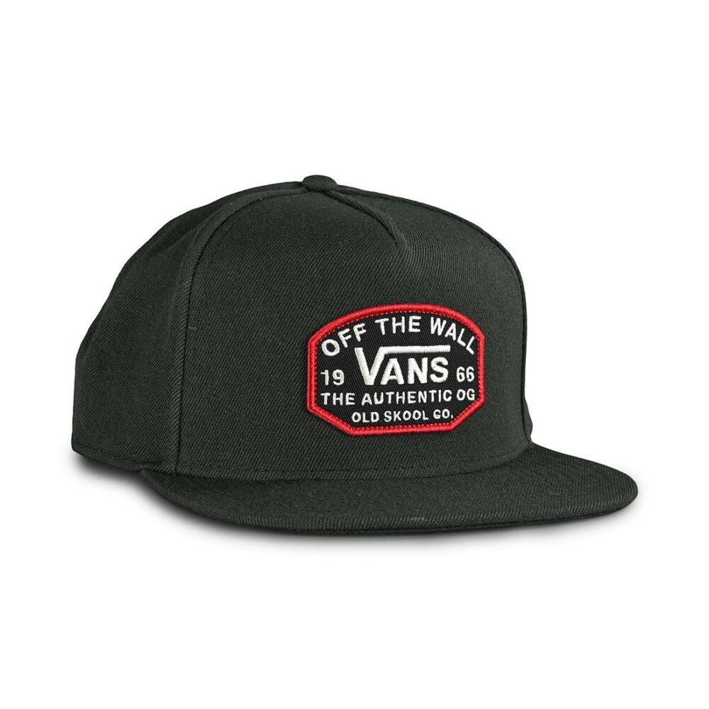 Vans Old Skool OG Snapback Hat - Black