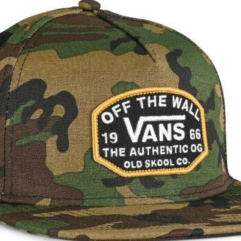 Vans Old Skool OG Snapback Hat - Classic Camo