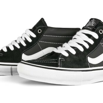 Vans Skate Grosso Mid Shoes - Black/White/Emo Leather