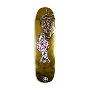 """Welcome Transcend on Son Of Moontrimmer 8.21"""" Skateboard Deck - Gold Foil"""