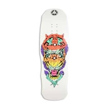 "Welcome Triger on Dark Lord 9.75"" Skateboard Deck - White Dip"