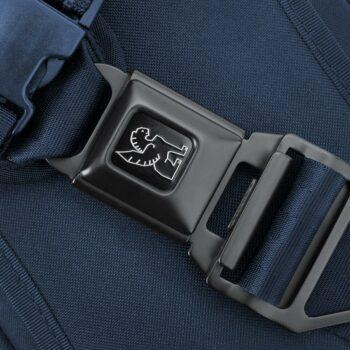 Chrome Kadet Nylon 9L Messenger Bag - Navy Tonal
