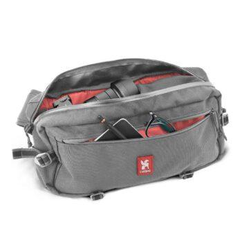 Chrome Kadet Nylon 9L Messenger Bag - Smoke