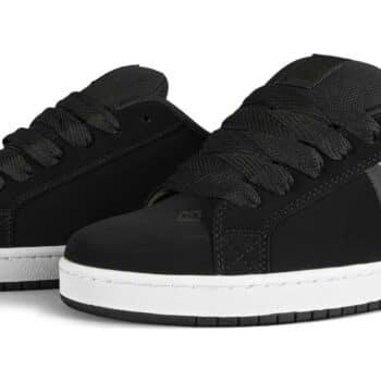 DC Court Graffik SQ Skate Shoes - Black/Print