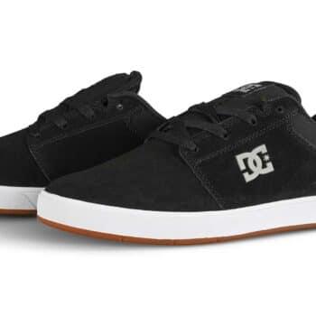 DC Crisis 2 Skate Shoes - Black/White/Black
