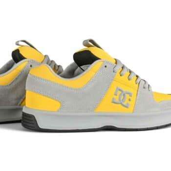 DC Lynx Zero Skate Shoes - Grey/Yellow