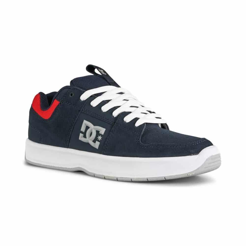 DC Lynx Zero Skate Shoes - Navy/Athletic Red
