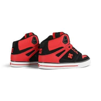 DC Shoes Pure High Top WC - Fiery Red/White/Black