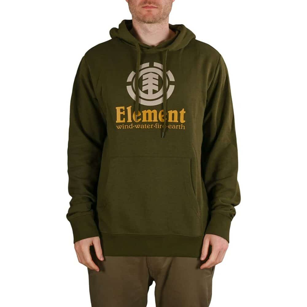 Element Vertical Pullover Hoodie - Army