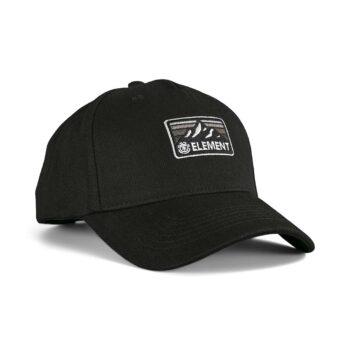 Element Wild Snapback Cap - Flint Black