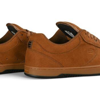 Etnies Joslin Skate Shoes - Brown/Black/Gum