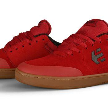 Etnies Marana Skate Shoes - Red/Gum