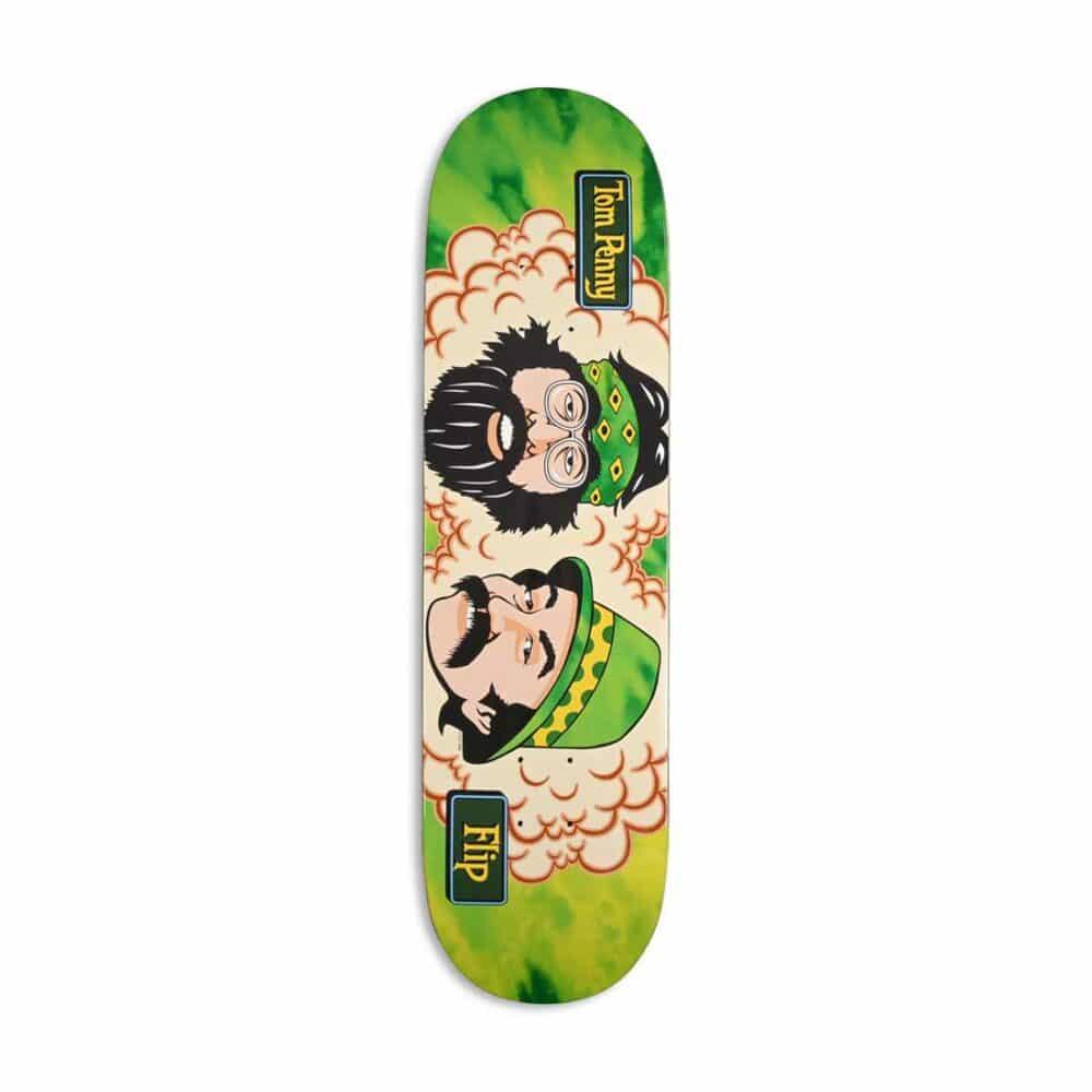 """Flip Tom Penny Friends 8.25"""" Skateboard Deck - Green Room"""