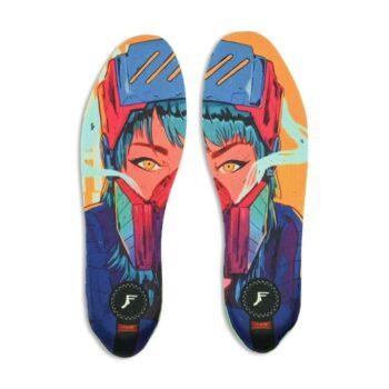 Footprint x Diber Kato Kingfoam Elite High Insoles - Cyber Girl
