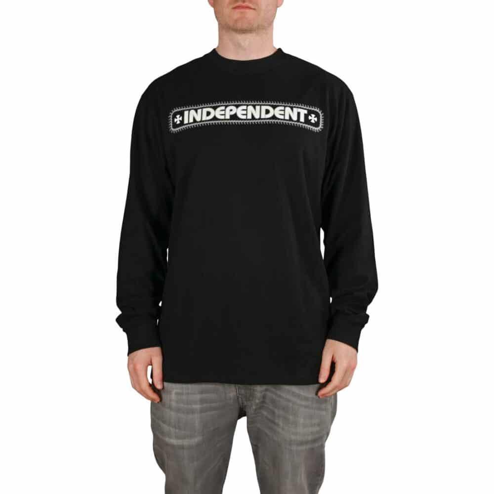 Independent Rebar Cross L/S T-Shirt - Black