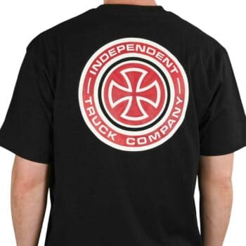 Independent Target S/S T-Shirt - Black