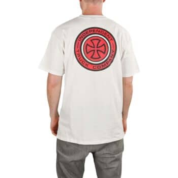 Independent Target S/S T-Shirt - White