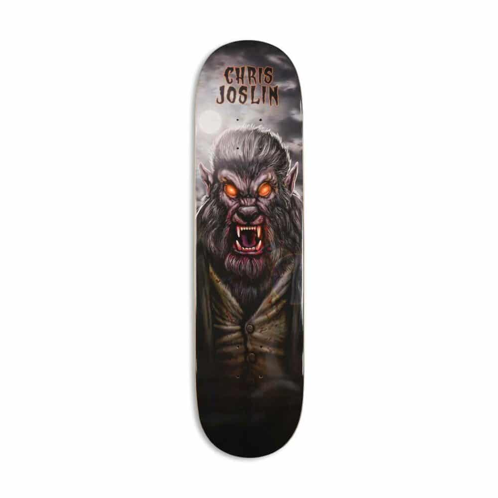 Plan B Chris Joslin Werewolf Skateboard Deck