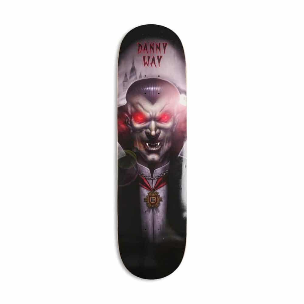 "Plan B Danny Way Dracula 8.5"" Skateboard Deck"