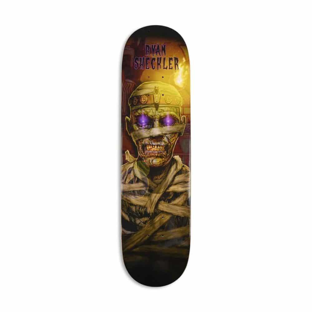 Plan B Ryan Sheckler Mummy Skateboard Deck